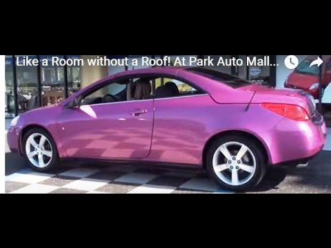 2008 Pontiac G6 Gt Hardtop Convertible Like A Room