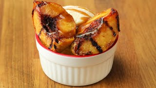 Grilled-Peach Sundaes In 15 Minutes Or Less // Presented by BuzzFeed & GEICO