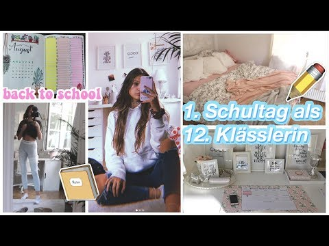 GET READY FOR BACK TO SCHOOL & ERSTER SCHULTAG VLOG ✏️💛👩🏼🎓