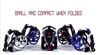 SkyMax Cube 3 Push Golf Trolley with FREE Cover from www u4golf co