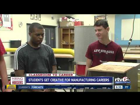 Students get creative with manufacturing technology at the J Everett Light Career Center