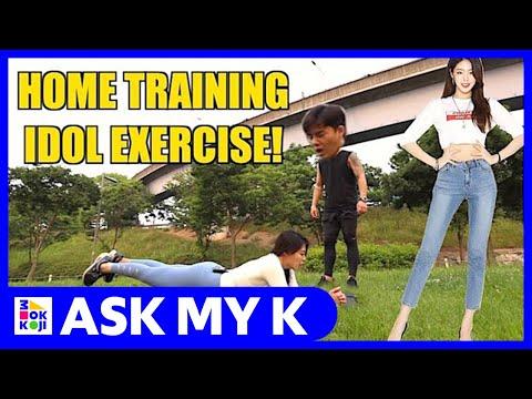 Ask My K : Leo Chun - K pop idol workout!