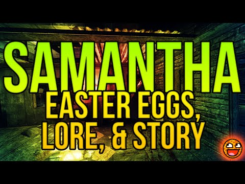 SAMANTHA MAXIS: Lore, Zombies Storyline, & The Giant Easter Egg Explained (Black Ops 3 Easter Egg)