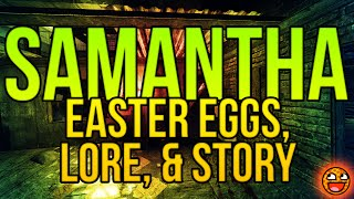 SAMANTHA MAXIS: Lore, Zombies Storyline, & The Giant Easter Egg Explained