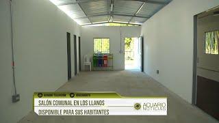 Salón Comunal en Los Llanos disponible para sus habitantes