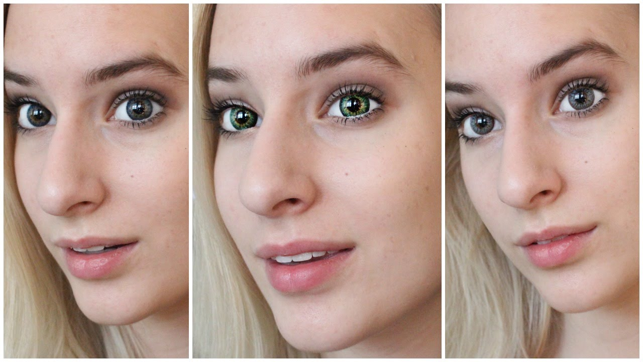 best colored contacts for brown eyes youtube
