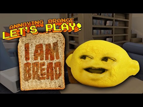 Annoying Orange – Grandpa Lemon Plays I AM BREAD
