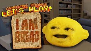 Annoying Orange - Grandpa Lemon Plays I Am Bread