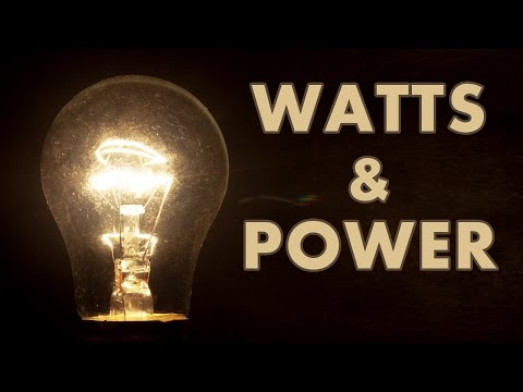 Basic Electricity - Power And Watts