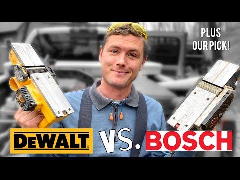 Wood Planer Battle | DEWALT D26676 vs Bosch PL1632