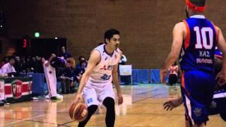 つくばロボッツvs三菱電機名古屋 バスケットボール 2015.3.1vol.37 五十...
