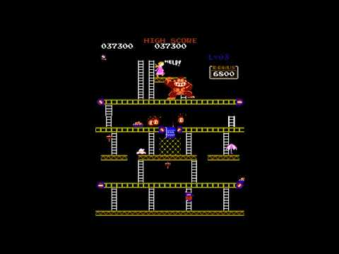 Donkey Kong NES Arcade Accurate Port in Development