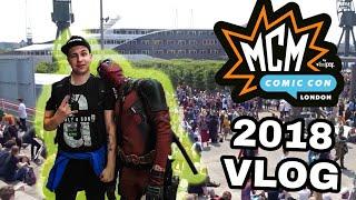 Comic Con London 2018 | Vlog | I met my Kindred spirit Deadpool !!