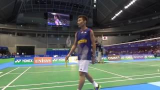 Lee Chong Wei super skill footwork Nice Camera Badminton