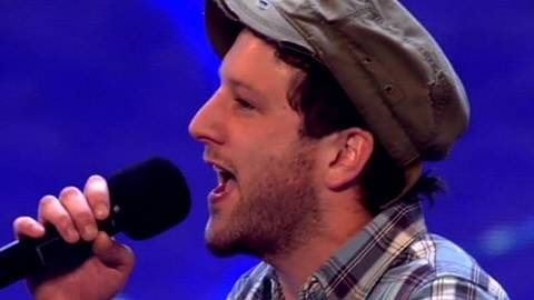 Matt Cardle's X Factor Audition - itv.com/xfactor