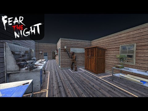 SETTING UP NEW MAIN BASE | Fear the Night | Let's Play Gameplay | S01E17