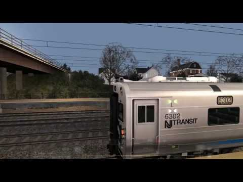 Train Simulator 2017 | 04 Northeast Corridor - North Jersey Coast Line | ALP-45 DP