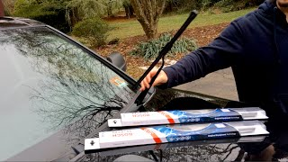 how to 1999 2014 jeep grand cherokee windshield wiper replacement wj wk wk2