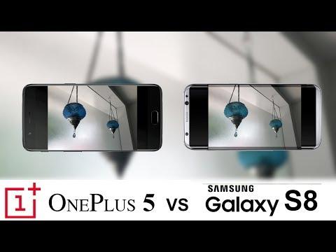 Oneplus 5 Vs Samsung Galaxy S8 Camera Test