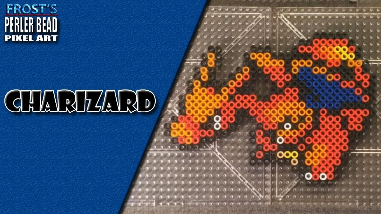 pokemon perler bead charizard youtube