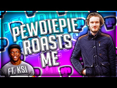 Thumbnail: PewDiePie ROASTED ME! Featuring KSI (DISS TRACK OR NA)