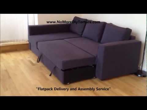 IKEA Manstad Corner sofa-bed with storage v2