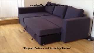 Ikea Manstad Corner Sofa-bed With Storage V2