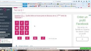 #Mon test de QI 1 '-'