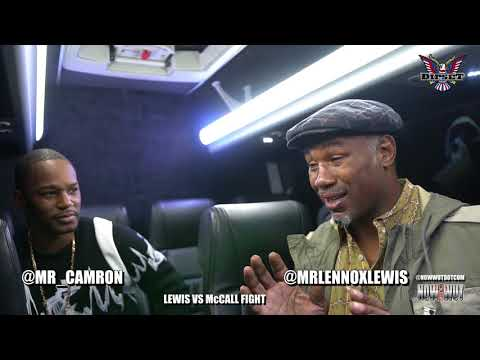 CAM'RON AND LENNOX LEWIS : FIGHT TALK - LEWIS VS McCALL