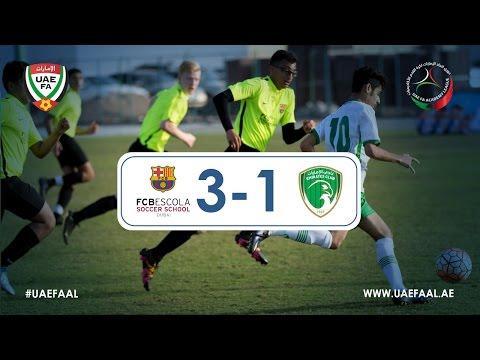 UAE FAAL - FCBEscola 3-1 Emirates Club | Week 6 Highlights