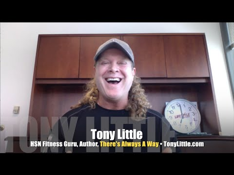 HSN's Tony Little used fitness to turn his own life around! INTERVIEW