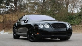 Bentley Continental Blacked Out Review Walk Around 2005 Model