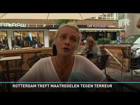 Rotterdam plaatst plantenbakken tegen terreuraanslagen