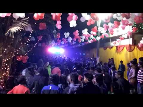 Ranchi college  hostel  saraswati puja dance 2018