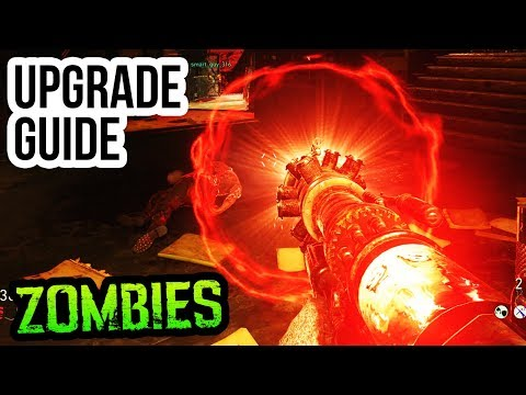 "FINAL REICH TESLA GUN UPGRADE GUIDE & TUTORIAL (WW2 Zombies ""BLOODTHIRST"" Upgrade Tutorial)"