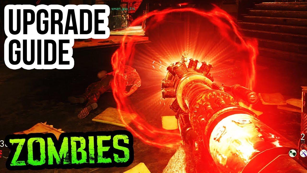 Final Reich Tesla Gun Upgrade Guide Tutorial Ww2 Zombies Bloodthirst Upgrade Tutorial
