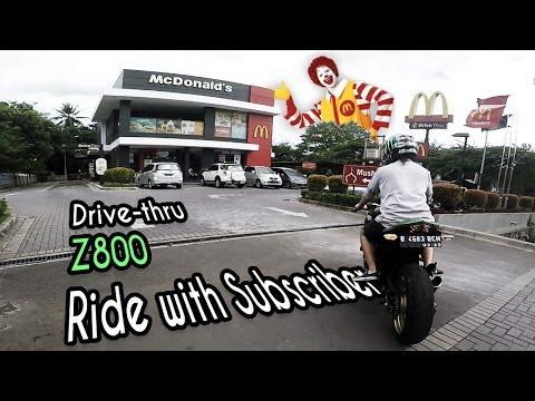 Z800   Ride With Subscriber #2 - Drive Thru McD ランランル   GoPro Hero 5