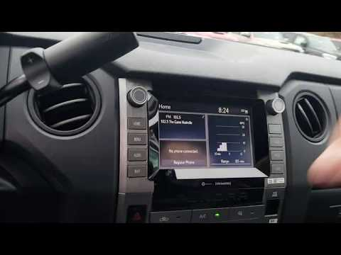 2020 Tundra SR Toyota Trim Level Series Introduction, Features Explained TTLS