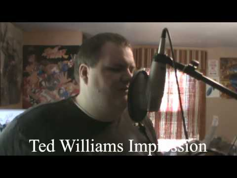 "Ted Williams ""Golden Voice"" Impression"