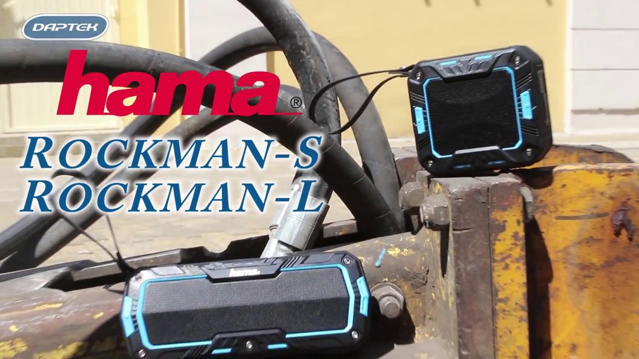 Тонколонки HAMA Rockman-S и Rockman-L