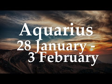 Aquarius Weekly Tarot 28 January - 3 February 2019 - Aquarian Insight
