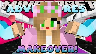 Minecraft - Little Kelly Adventures : GETTING A MAKEOVER!