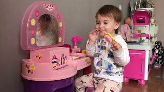 Обзор столика Полесье POLESIE toys Piupiu Туалетный столик Детские игрушки Белорусские игрушки РБ
