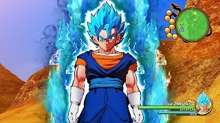 NEW Vegito Super Saiyan Blue Transformation in Dragon Ball Z Kakarot (MODS)