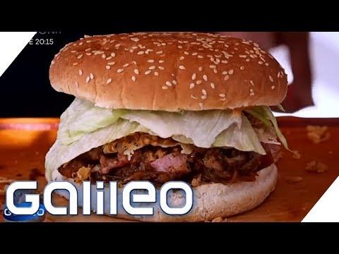 Cidre meets Burger - Das beste Crossover-Food   Galileo   SAT.1