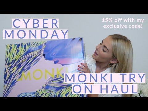 MONKI CYBER MONDAY TRY  ON HAUL | HIGHSTREET HAUL