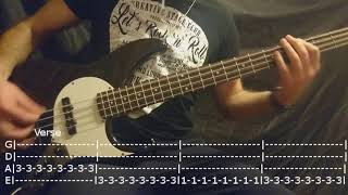 blink-182 - All The Small Things Bass Cover Tabs