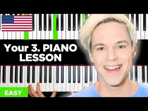 How To Play Piano - Your 3. Piano Lesson