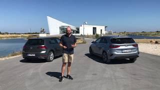 DUEL Kia Ceed vs Volkswagen Golf (DK)