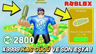 """2800"""" ROBUX 'LE SINIRSIZ KAS VE SON E'YA 💪 Hebesimulator / Roblox Türk'e"""